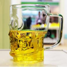 Бокал для пива в форме черепа 500мл