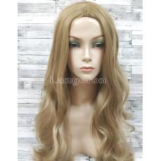 Парик блонд волнистый 70см с пробором без челки