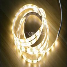 LED лента 1м от сети 220vс бп с датчиком движения белое теплое свечение для столешницы и прочее