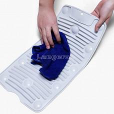 Стиральная доска силиконовая для ручной стирки