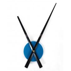 Часовой механизм 30см стрелки цвет голубой
