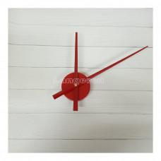 Часовой механизм 30см стрелки цвет красный