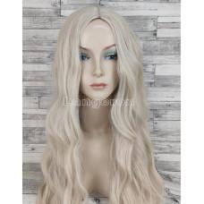 Парик блонд волнистый 75см с пробором без челки
