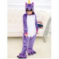 Пижама детская Единорог фиолетовый на рост 115-120см Кигуруми