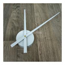 Часовой механизм 30см стрелки цвет белый