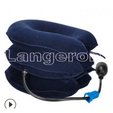 Корректор для шеи надувной регулируемый с грушей