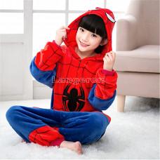 Пижама детская Спайдермен рост 115- 120см на молнии Человек паук Кигуруми