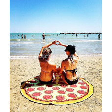 Покрывало пляжное Пицца