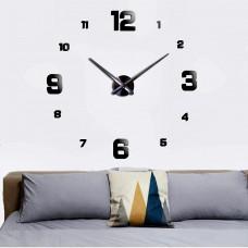 Часы 3d объемные разборные больш и мал цифр серебро до 1м