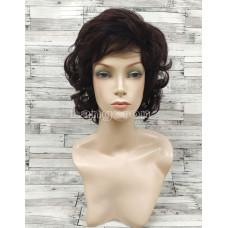 Парик из натуральных волос модель М11 коричневый женский