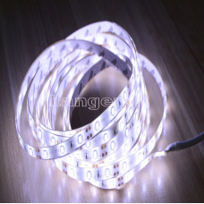 LED лента 3м с бп с датчиком движения белое холодное свечение для столешницы и прочее