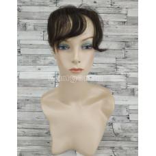 Накладка их натуральных волос темно-коричневая модель 07