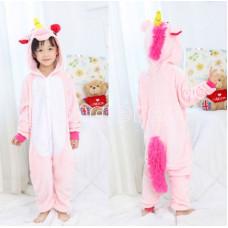 Пижама Единорог розовый на рост 140
