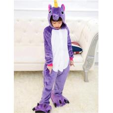 Пижама Единорог фиолетовый на рост 140