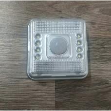 Ночник-светильник 8 светодиодов с датчиком движения
