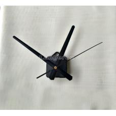 Часовой механизм  стрелки 19,5*15,3*19,3 см цвет черный с ушком