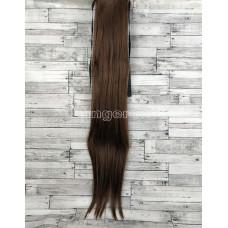 Хвост прямой светло-коричневый 75 см 120г