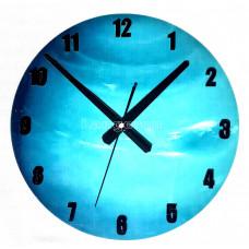 Часы настенные светящиеся в темноте Нептун 30 см