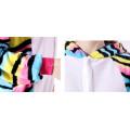 Пижама кигуруми для детей  Котенок в полосочку разноцветный на рост 115-130 см