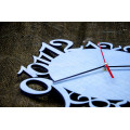 "Часы настенные из фанеры ""Алиса"" любого цвета"