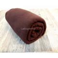Полотенце из микрофибры 70*140 микрофибра коричневое
