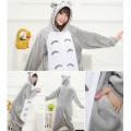 Пижама Totoro S на рост 145-155 Серый кот Мой сосед Тоторо кигуруми kigurumi