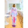 Пижама Единорог звездный разноцветный S на рост 145-152 кигуруми