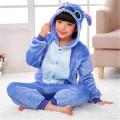 Пижама детская Стич голубой на рост 135-140см kigurumi  кигуруми