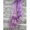 Парик косплей Лолита фиолетовый с блондом с двумя хвостами