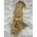 Парик блонд волнистый 70см с челкой №33002А оттенок H16-613
