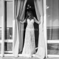 Пеньюар платье из кружева белое для фотосессий, фотосессий беременных