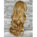 Парик волнистый блонд с пробором и челкой 65см