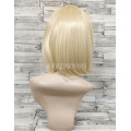 Парик блонд каре 35см прямой с косой челкой аниме косплей cosplay