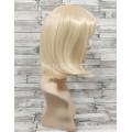 Парик блонд каре 35см прямой с прямой челкой искусственный