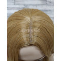 Парик волнистый с пробором блонд 70см 19-385