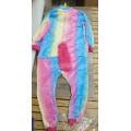 Пижама Единорог радужный светлый на рост 130см