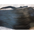 Накладной хвост волнистый темно-коричневый #2