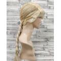 Парик принцессы Эльзы из мультфильма Холодное сердце блонд с косой