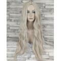 Парик с пробором блонд волнистый без челки 75см 1549-F2
