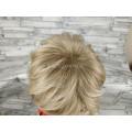 Парик блонд прямой короткий №1943А оттенок 15BT613