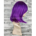 Парик каре фиолетовый