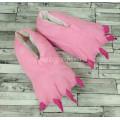 Тапки лапы розовые 40-44